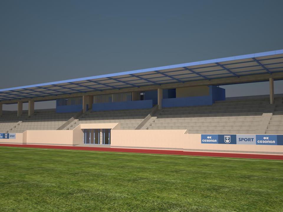 Вижте новия стадион в Созопол 3