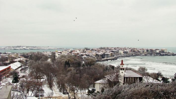Снежен Созопол - 27.01.2014