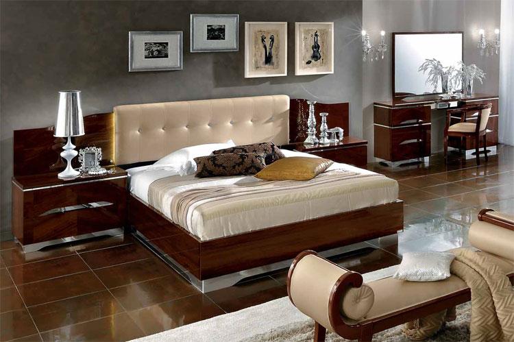 komplett schlafzimmer set luxus modern deluxe stilmoebel italy ... - Schlafzimmer Luxus Modern