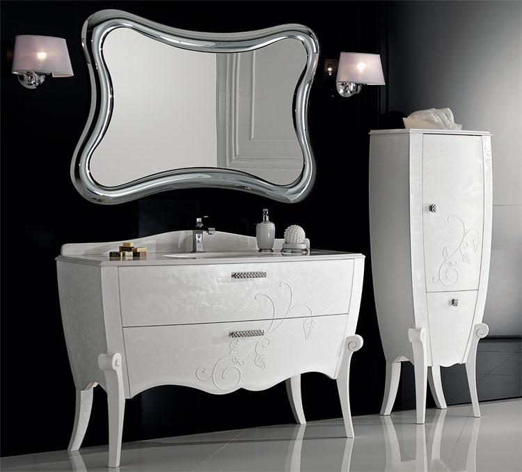 Italienische Designer Wandspiegel flammenf rmiger design spiegel flamme dekoration beltr n la