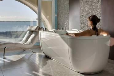 Le spa, l'une des clés du succès du Domaine de Rochevilaine