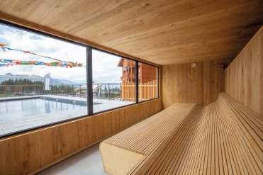 Sauna panoramique