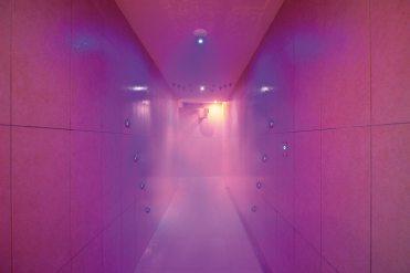 Tunnel douche expérience