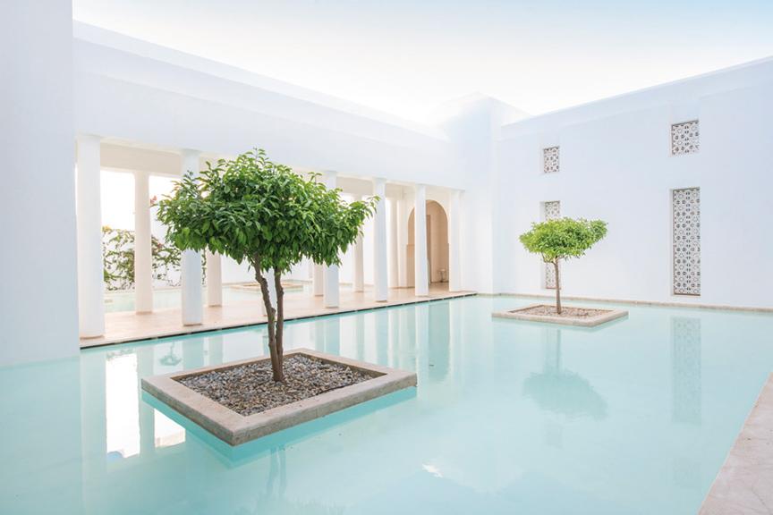Le Nouveau Spa Clarins En Tunisie Magazine Spa De Beaute