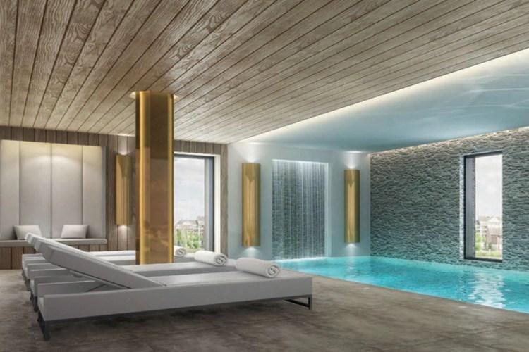 Le spa de l'hôtel Aiden à Compiègne
