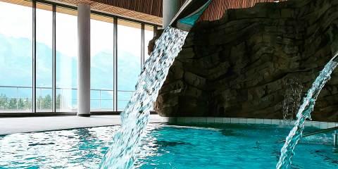 Un nouveau centre de bien-être dans les Alpes