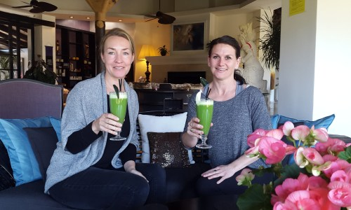 Nutritionist Vicky about detox at Shanti Som