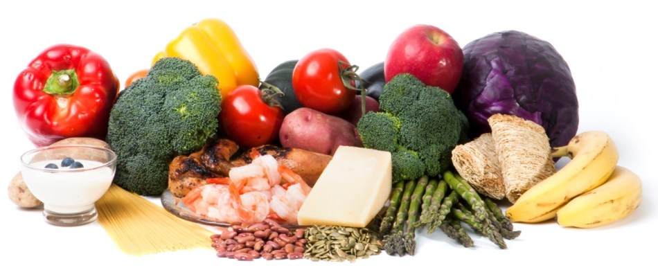 healthy nutrition, with a variety of your favourite, healthful foods