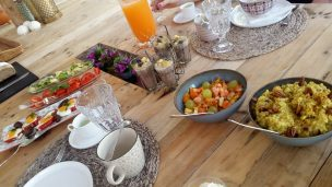 A brunch to die for at Ibiza Healing Yoga Retreat
