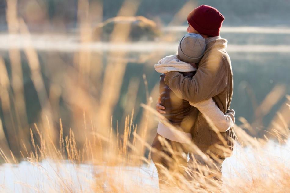 The health benefits og hugging; Hugging can enhance relationships