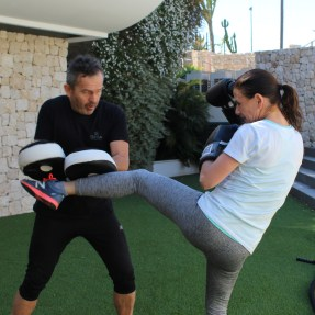 Healthy Living academy at SHA Wellness Clinic, kick boxing by SIS Spa in Spain