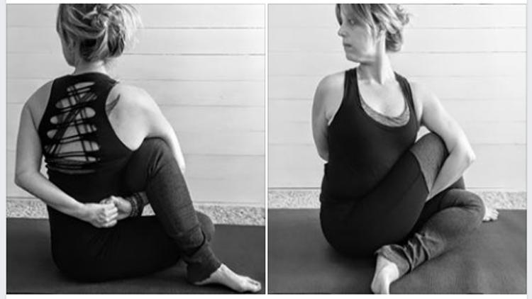 Asanas, Yoga postures, Ardha Matsyendrasana pose