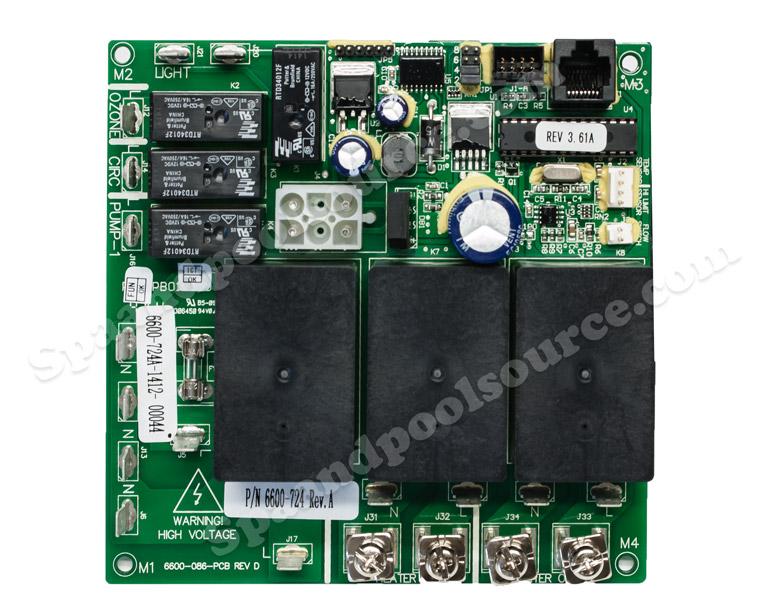 2002 cal spa wiring diagram pa setup 6600 724 circuit board for sundance jacuzzi with circulation spas pu