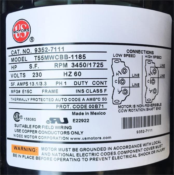 spa pump for sundance® jacuzzi® 6500261 6500761 6500128