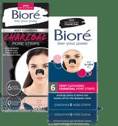 Biore Charcoal Blackhead Strips