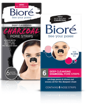 Biore Charcoal Blackhead Strips