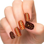 Halloween nail polish strips from Incoco.