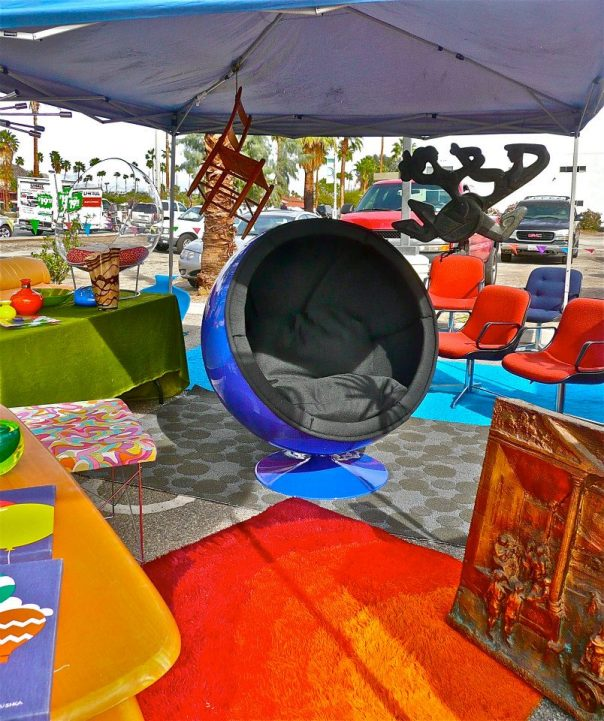 Mid Century Modern Galore! at Palm Springs Open Air Market