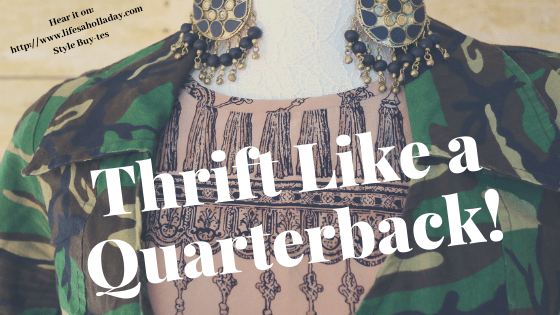 Audio Shopping Haul: Two Bags of Vintage Clothes for > $5 Incl. an Austrian smoking jacket, by the Quarterback Thrifter