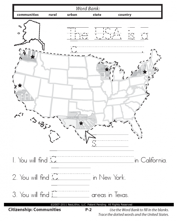 Free Printable Social Studies Worksheets For 2nd Grade