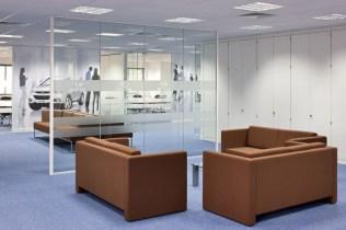 Image of Hyundai Training Centre break-out area furniture