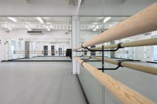 Image of Laine Theatre Arts dance studio training bar