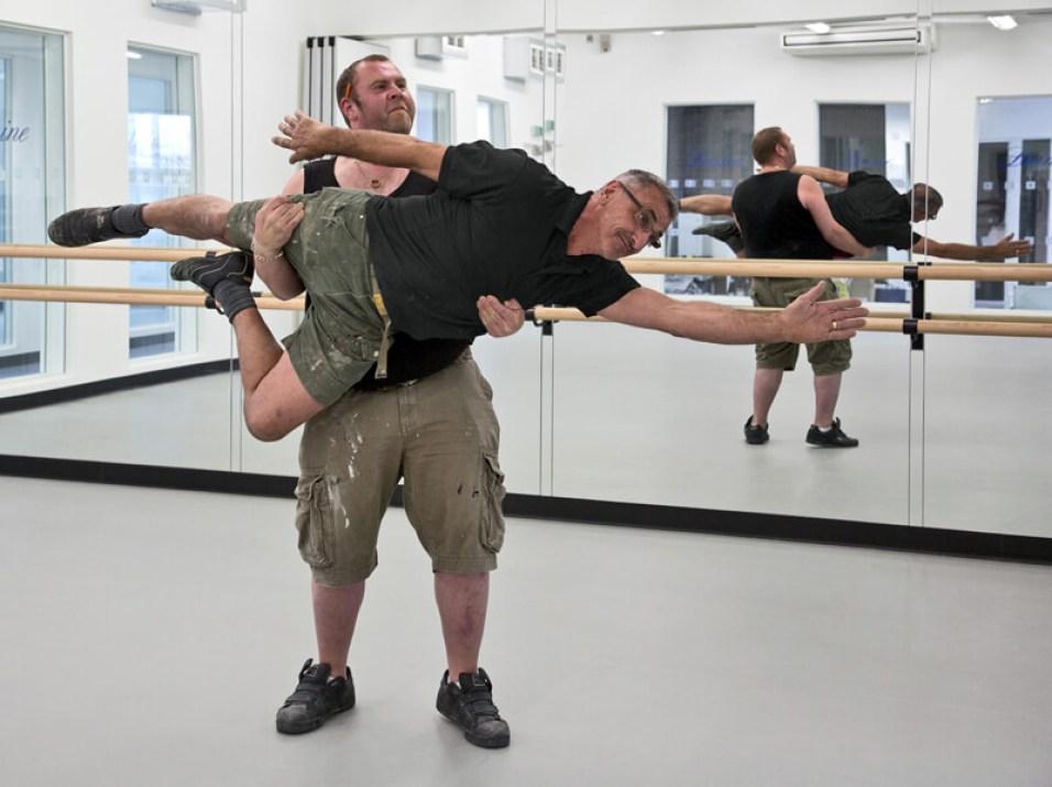 Image of dance studio fitters