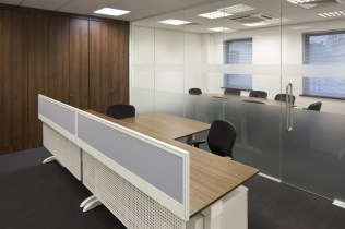 Image of The Order of St Johns Trust touch-down hot-desking area