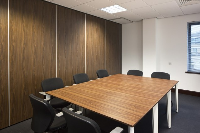 Image of The Order of St Johns Trust meeting room with room divider retractable wall