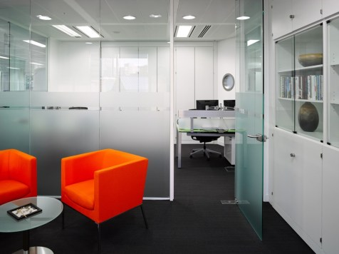 Image of Thomas Cook HQ office glass partitioning