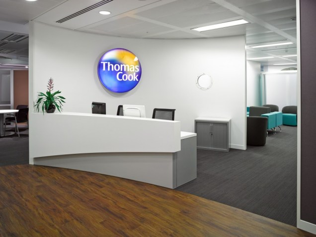 Image of Thomas Cook HQ reception area