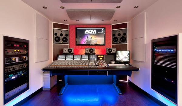 image of a sound-proof studio space