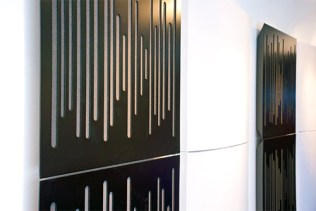 Image of acoustic wall panel sound dampeners