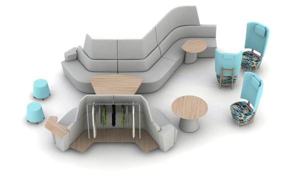 Image of Orangebox Away From Desk Collaborative Seating