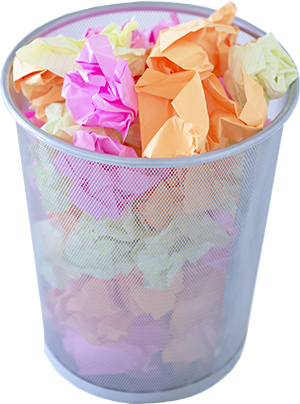 Picture of office bin challenge