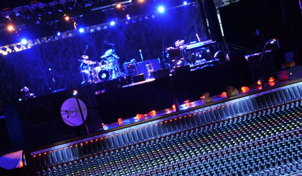 Image of an Audio Visual and Pro Sound & Lighting set-up