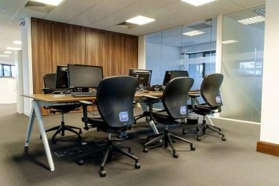 Image of Orders of St John Care Trust telephone operator desks
