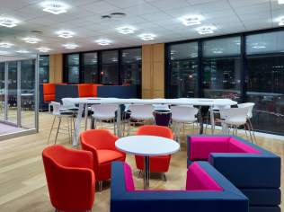 Thames Water Open Plan Collaboration Area