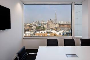 Image of London skyline from TKA training rooms in London
