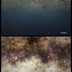 Parts Of A Telescope Diagram Wiring Can Lights The Milky Way's Core (photos)