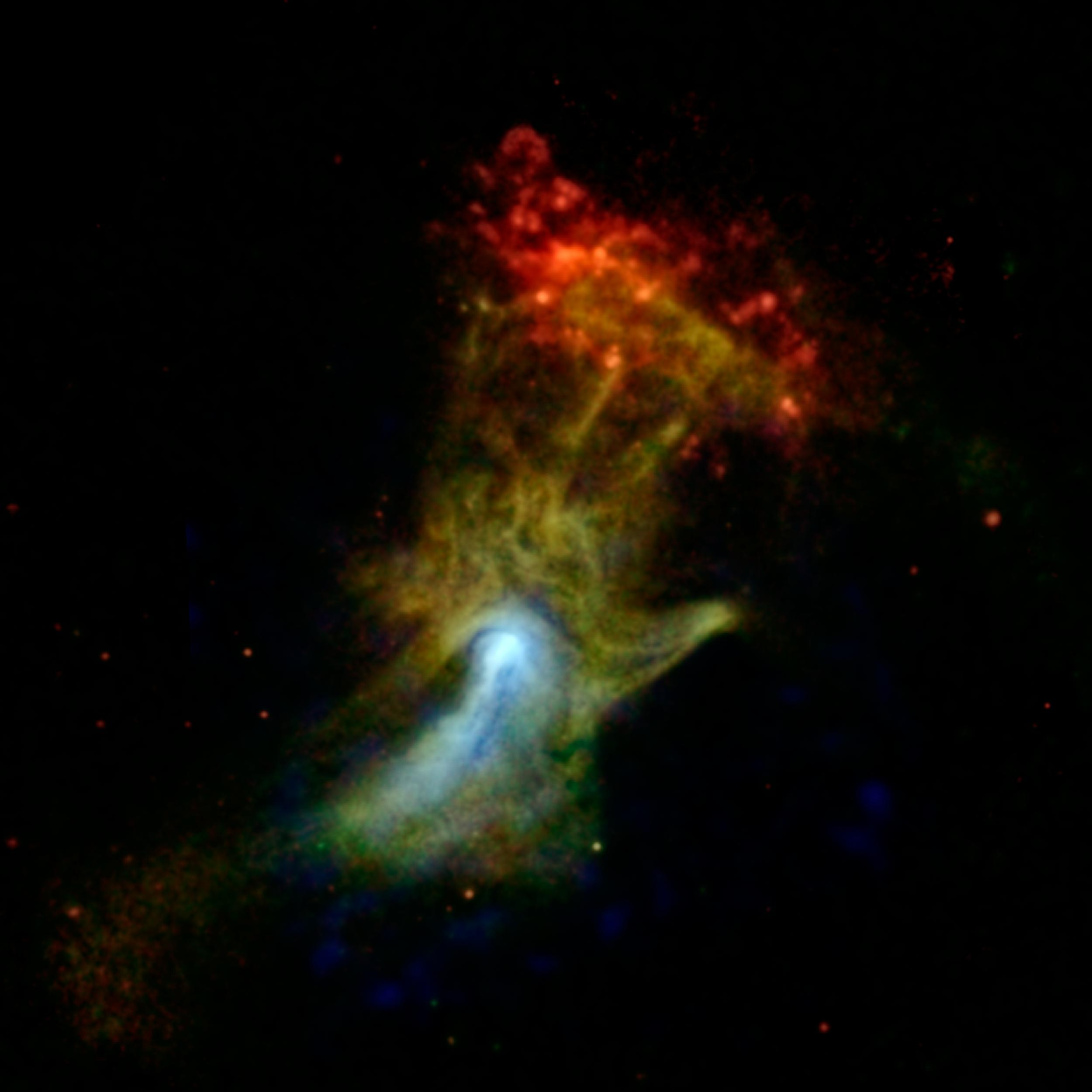 'Hand of God' Spotted by NASA Space Telescope (Photo)