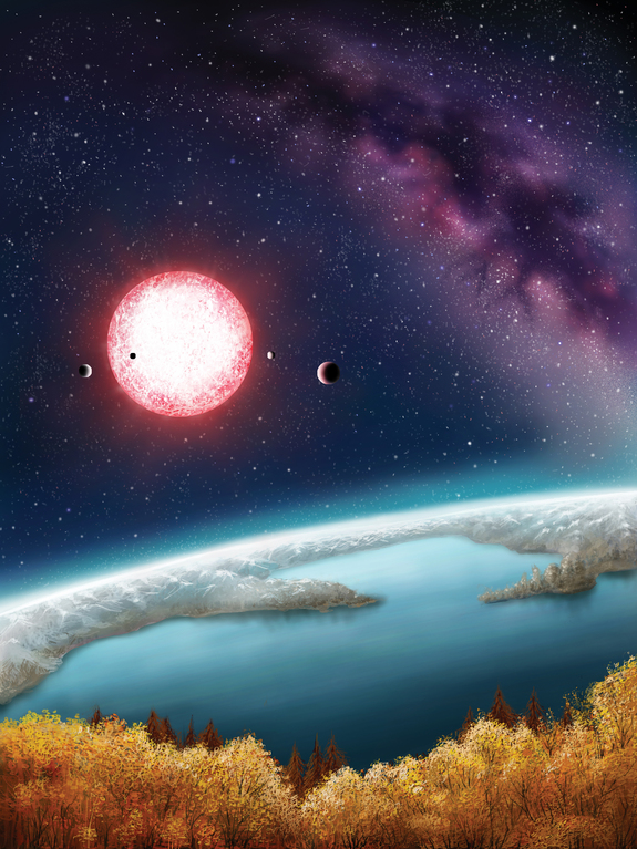 What Would It Be Like to Live on Alien Planet Kepler-186f?