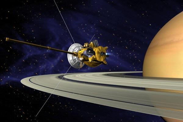 Cassini Space Probe Saturn