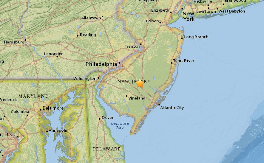 Mysterious Sonic Boom Reported Over New Jersey