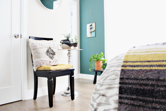 Space and Habit Decorating With What You Have Boho Bedroom Sitting Area