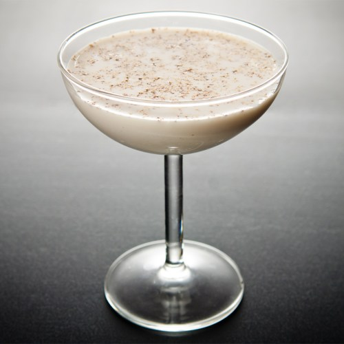 Space and Habit Fall Drink Recipes Brandy Alexander