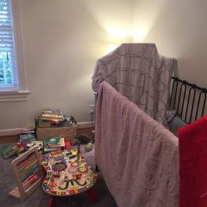 Kids Room Crib Before