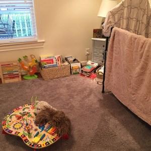 Kids Room Crib After