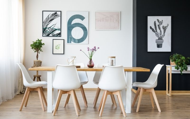 Home Orgnanization Dining Room