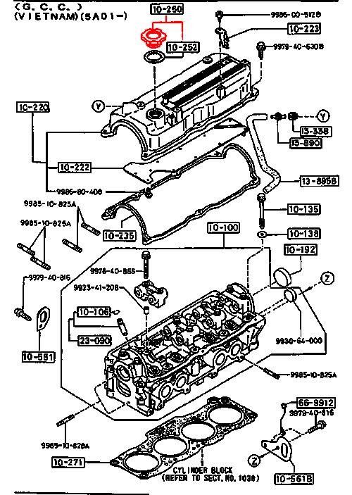 MAZDA 323 626 3 MPV MX RX PREMACY XEDOS-6 NAKRĘTKA KOREK